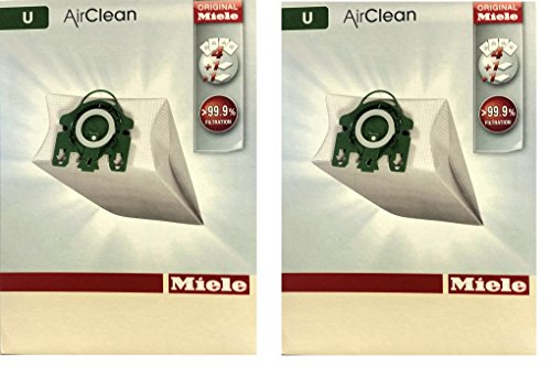 Cheap Miele Type U AirClean Bags & Filters, For S7000-S7999 UprightUpright, 8 Pack