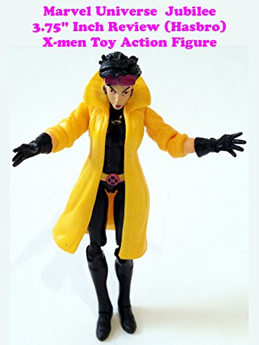 "Marvel Universe 3.75"" Inch JUBILEE review (Hasbro) X-men toy action figure"
