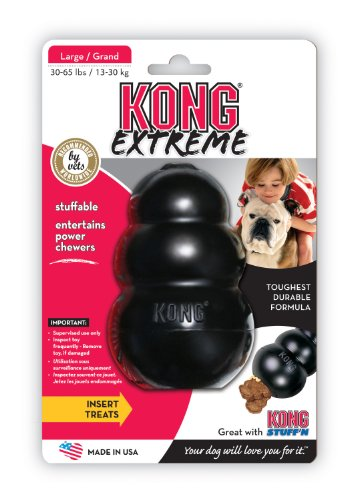 KONG Extreme Dog Toy - Black - Large