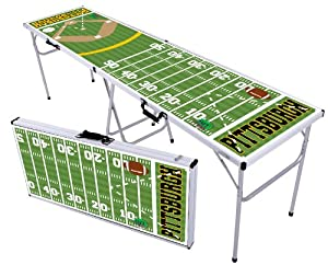 NFL and MLB Colored Beer Pong Table -NEW! (Professional) by Play Anywhere Sports