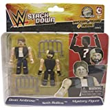 WWE StackDown Dean Ambros VS Seth Rollins with Mystery 3 Figure Action Pack