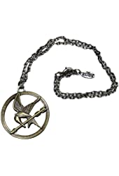 """The Hunger Games Movie Necklace Single Chain """"Mocking Jay"""""""