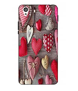 Snazzy Printed Multicolor Hard Back Cover For One Plus X