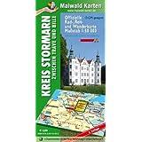 Stormarn = Offizielle Rad-, Reit- u. Wanderkarte Stormarn zwischen Trave und Bille: 1:50.000 - GPS geeignet - Kartennetz: Gaus-Krüger-Projektion auf WGS 84