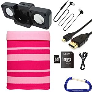 Amazon.com : Soft Knit Sleeve Cover, Earphone, Speaker, SD Card, USB