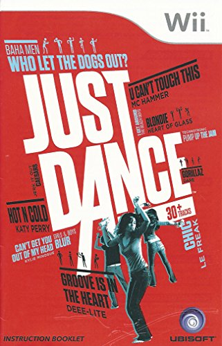 Just Dance Wii Instruction Booklet (Nintendo Wii Manual Only - NO GAME) [Pamphlet only - NO GAME INCLUDED] Nintendo