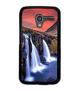 printtech Nature Waterfall View Back Case Cover for Motorola Moto X XT1058::Motorola Moto X (1st Gen)