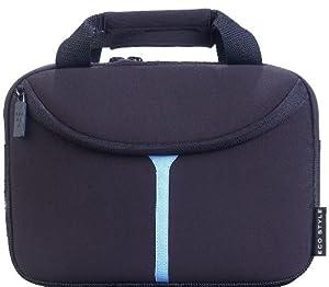 EcoStyle 10.2-Inch Neoprene Netbook Sleeve - Black/Blue (EEMB-BL10)