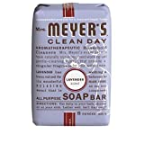 Mrs. Meyer's Clean Day Bar Soap, Lavender, 8 Ounce Bar