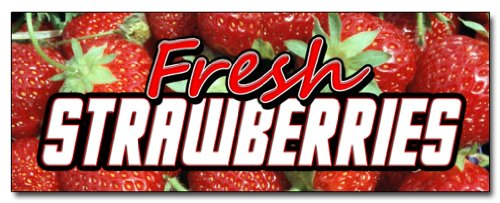 Fresh Strawberries Decal