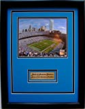 NFL Carolina Panthers Bank of America Stadium Framed Portrait Photo with Nameplate at Amazon.com