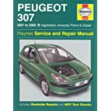 Peugeot 307 Petrol and Diesel Service and Repair Manual: 2001-2004 (Haynes Service and Repair Manuals)by Martynn Randall