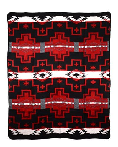Uptown Down Camp Blanket, Red/Black As You See