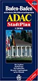 echange, troc Plans ADAC - Plan de ville : Baden-Baden