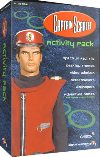 Captain Scarlet Activity Pack