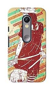 KnapCase Fashion Girl Designer 3D Printed Case Cover For Motorola Moto G Turbo Edition