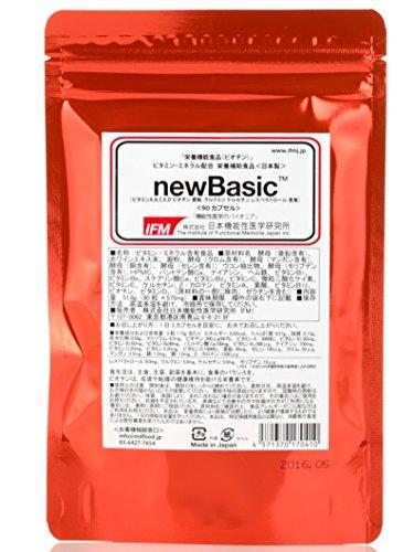 日本機能性医学研究所 newBasic レスベラトロール含有 90カプセル