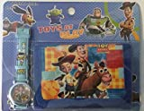 Toy Story 3 movie Watch wristwatch and Purse Wallet Set For Children ~ BUZZ Lightyear in the Watch Woody and Horse (Bullseye) in the wallet with Jessie