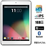 Dragon Touch® R8 7.85'' Google Android 4.2 Jelly Bean Quad Core IPS Tablet MID PC, 4x1.8GHz, 1GB Ram, 16GB HDD, 1024x768 IPS Display, Bluetooth 4.0, Dual Camera, Google Play Pre-Installed, HDMI, Mini Pad [By TabletExpress]