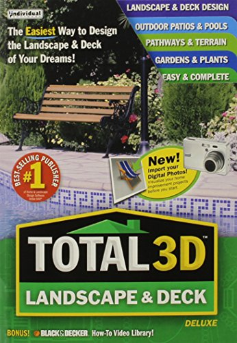 Total 3D Landscape & Deck Deluxe (Total 3d Home Design Software compare prices)