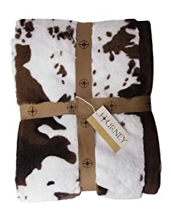 Scene Weaver Journey Faux Fur Throw, Old Paint Pony, 50 by 70-Inch