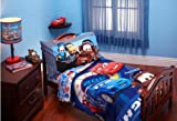 Disney Cars 4 in 1 Junior Bed Set, padded Quilt Cover with matching 3pc Sheet Set