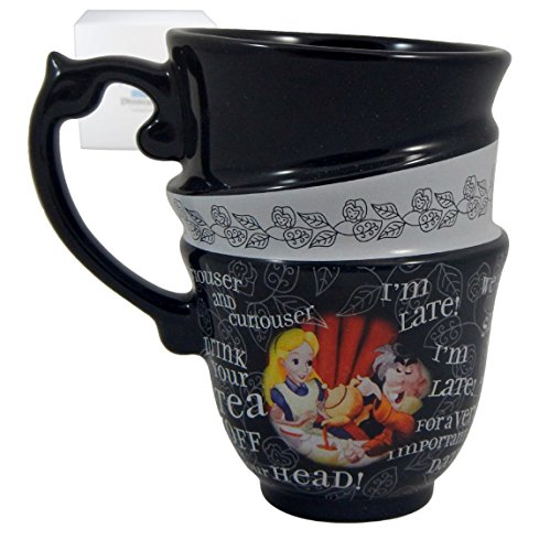 Disney Parks Alice In Wonderland Stacked Mug