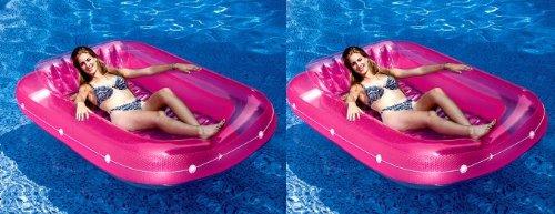 2 Swimline 9052 71 Swimming Pool Inflatable Suntan Tub
