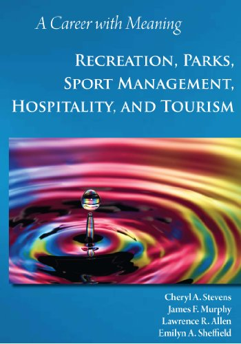 A Career with Meaning: Recreation, Parks, Sport Management, Hospitality, and Tourism