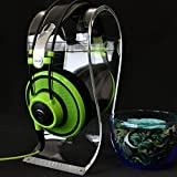 PWOW® Universal Clear Omega Headphone/Headset Showing Stand - Sweet Gift for Valentine