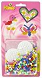 Hama Beads Pack Heart, Bird, Butterfly 4114