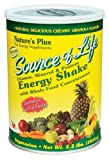 Natures Plus - Source Of Life/Energy Shake, 2.2 lb powder