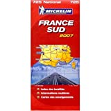 Michelin Map No. 725 Southern France, Scale 1:1,000,000 (French Edition)