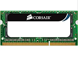 Corsair CM3X2GSD1066 2GB DDR3 SODIMM Single Memory Module