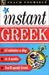 Teach Yourself Instant Greek Audio Pack