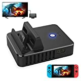 FastSnail TV HDMI Conventor for Switch,TV Switch Charger Stand,Portable Charging Dock for Nintendo Switch With Electronic Chip