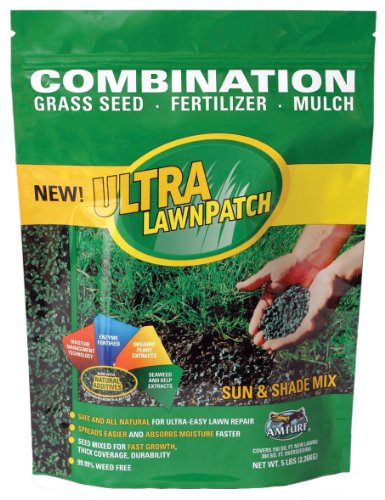 Amturf 45332 Sun/Shade Ultra Lawn Patch 5-Pound Bag