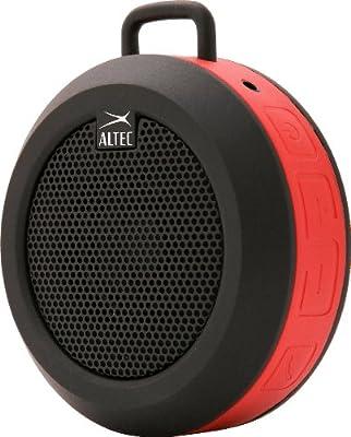 Altec Lansing iMW355 Orbit Bluetooth Speaker, Red