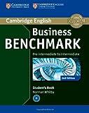 Business Benchmark Pre-intermediate to Intermediate BULATS Student's Book