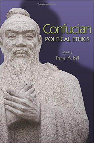 Confucian Political Ethics (Ethikon Series in Comparative Ethics)