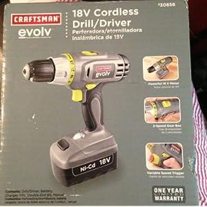 18.0 Volt Cordless Drill/Driver