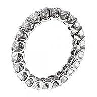 1.75 CT TW Round Diamond Eternity Wed…