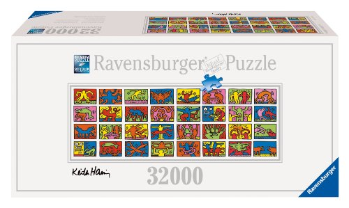 Ravensburger Double Retrospect Keith Haring Puzzle (32000 Pieces)