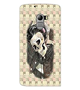 PrintDhaba Funny Image D-3746 Back Case Cover for LENOVO K4 NOTE A7010 (Multi-Coloured)