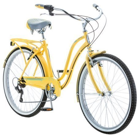 schwinn-7-speed-cruiser-bike-for-women-26-inch-wheels-yellow-by-schwinn-fairhaven
