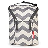 Skip Hop Grab and Go Double Bottle Bag, Chevron