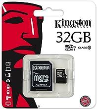 Kingston Advanced 32 GB MicroSDHC Class 10 Memory Card (SDC10-32GB)