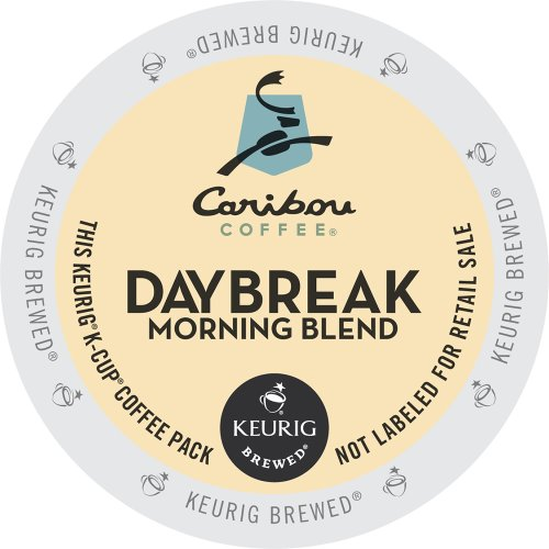 Keurig, Caribou Coffee, Daybreak Morning Blend,