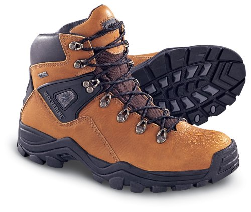 Men's Wolverine GORE-TEX Hikers Black (Wolverine, Shoes)