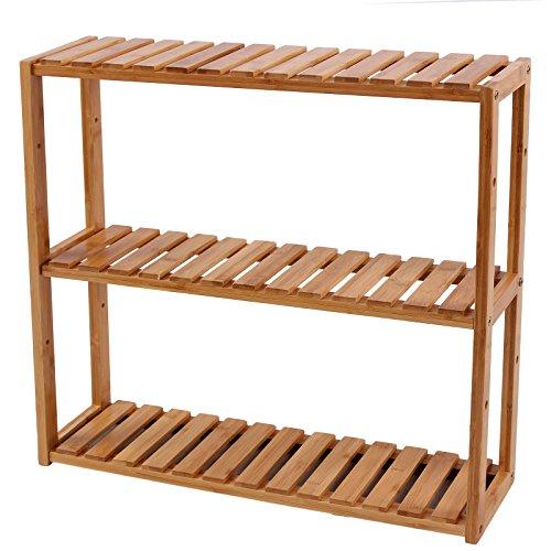 Songmics-Badregal-Wandregal-Kchenregal-Handtuchhalter-Hngeregal-Wandschrank-aus-Bambus-60-x-15-x-54-cm-BxTxH-BCB13Y